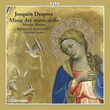 Josquin Desprez (1440-1521): Marien-Motetten, CD