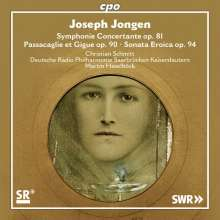 Joseph Jongen (1873-1953): Symphonie Concertante mit Orgel op.81, Super Audio CD