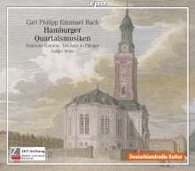 Carl Philipp Emanuel Bach (1714-1788): Hamburger Quartalsmusiken, 2 CDs