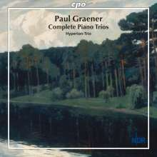 Paul Graener (1872-1944): Werke für Klaviertrio, CD