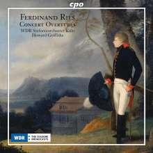 Ferdinand Ries (1784-1838): Ouvertüren, CD