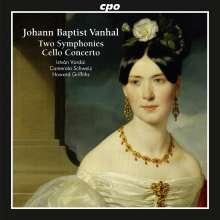 Johann Baptist (Jan Krtitel) Vanhal (1739-1813): Symphonien C-Dur & e-moll, CD