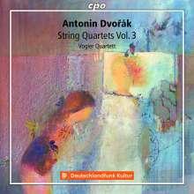 Antonin Dvorak (1841-1904): Streichquartette Vol.3, 2 CDs