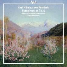 Emil Nikolaus von Reznicek (1860-1945): Symphonien Nr.3 & 4, CD