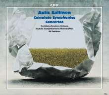 Aulis Sallinen (geb. 1935): Sämtliche Symphonien Nr.1-8, 5 CDs