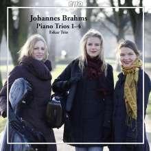 Johannes Brahms (1833-1897): Sämtliche Klaviertrios, 2 CDs