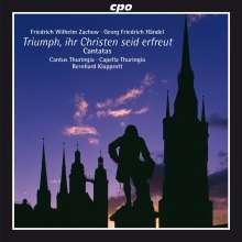 Friedrich Wilhelm Zachow (1663-1712): Kantaten, CD