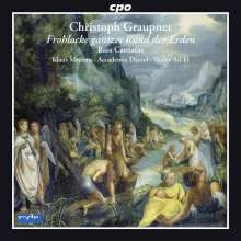 Christoph Graupner (1683-1760): Bass-Kantaten, CD