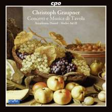 Christoph Graupner (1683-1760): Concerti, CD