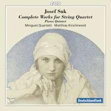 Josef Suk (1874-1935): Sämtliche Werke für Streichquartett, 2 CDs