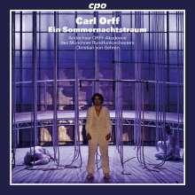 Carl Orff (1895-1982): Ein Sommernachtstraum, 2 CDs