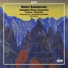 Dimitri Kabalewsky (1904-1987): Klavierkonzerte Nr.1-4, 2 CDs