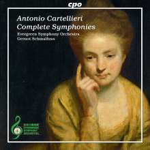 Antonio Casimir Cartellieri (1772-1807): Symphonien Nr.1-4, CD
