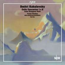 Dimitri Kabalewsky (1904-1987): Cellokonzerte Nr.1 & 2, CD