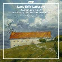 Lars-Erik Larsson (1908-1986): Orchesterwerke Vol.2, Super Audio CD