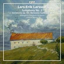 Lars-Erik Larsson (1908-1986): Orchesterwerke Vol.2, SACD