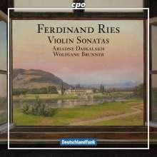 Ferdinand Ries (1784-1838): Sonaten für Violine & Klavier op.8 Nr.1; op.16 Nr.2; op.71, CD