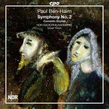 Paul Ben-Haim (1897-1984): Symphonie Nr.2, CD