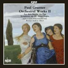 Paul Graener (1872-1944): Orchesterwerke Vol.2, CD
