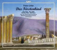 Franz Lehar (1870-1948): Das Fürstenkind, 2 CDs