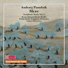 Andrzej Panufnik (1914-1991): Orchesterwerke Vol.7, CD