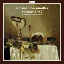 Johann Rosenmüller (1619-1684): 12 Sonate a 2,3,4 e 5 Stromenti da Arco & altri, CD
