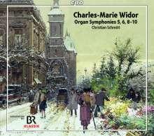 Charles-Marie Widor (1844-1937): Orgelsymphonien Nr.5,6,8-10, 3 SACDs