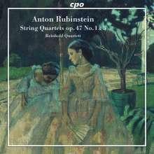 Anton Rubinstein (1829-1894): Streichquartette Vol.1, CD