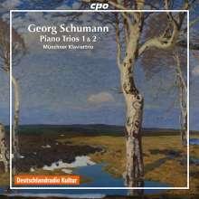 Georg Schumann (1866-1952): Klaviertrios Nr.1 & 2 (opp.25 & 62), CD