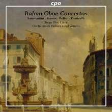 Diego Dini Ciacci spielt italienische Oboenkonzerte, CD