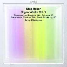 Max Reger (1873-1916): Orgelwerke Vol.1, 2 Super Audio CDs