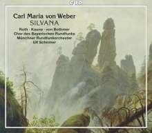 Carl Maria von Weber (1786-1826): Silvana, 2 CDs