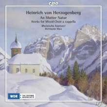 Heinrich von Herzogenberg (1843-1900): Chorwerke, CD