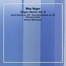 Max Reger (1873-1916): Orgelwerke Vol.3, 2 SACDs