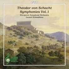 Theodor von Schacht (1748-1823): Symphonien Vol.1, CD