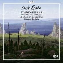 Louis Spohr (1784-1859): Symphonien Nr.4 & 5, SACD