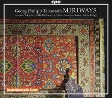 Georg Philipp Telemann (1681-1767): Miriways, 2 CDs