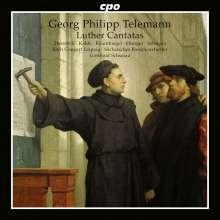 Georg Philipp Telemann (1681-1767): Wertes Zion, sei getrost - Kantaten nach Luther, CD