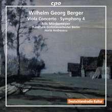 Wilhelm Georg Berger (1929-1993): Symphonie Nr.4, CD
