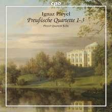 """Ignaz Pleyel (1757-1831): Streichquartette """"Preußische Quartette 1-3"""", CD"""