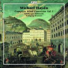 Michael Haydn (1737-1806): Sämtliche Bläserkonzerte Vol.1, CD