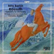 Bela Bartok (1881-1945): Kossuth (Symphonische Dichtung), Super Audio CD