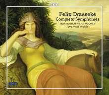 Felix Draeseke (1835-1913): Sämtliche Symphonien, 3 CDs