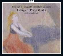 Heinrich von Herzogenberg (1843-1900): Sämtliche Klavierwerke, 3 CDs