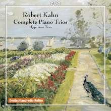 Robert Kahn (1865-1951): Sämtliche Klaviertrios, 2 CDs