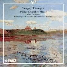 Serge Tanejew (1856-1915): Klavierquintett op.30, 2 CDs