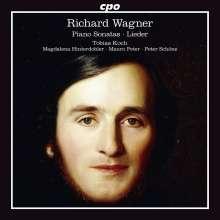 Richard Wagner (1813-1883): Klaviersonaten B-Dur op.1 & A-dur op.4, CD