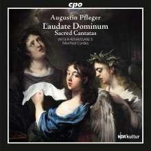 """Augustin Pfleger (1635-1686): Geistliche Kantaten """"Laudate Dominum"""", CD"""