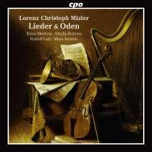 Lorenz Christoph Mizler (1711-1778): 20 Lieder und Oden, CD