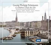 Georg Philipp Telemann (1681-1767): Oratorium für die goldene Hochzeit Mutzenbecher, 2 CDs
